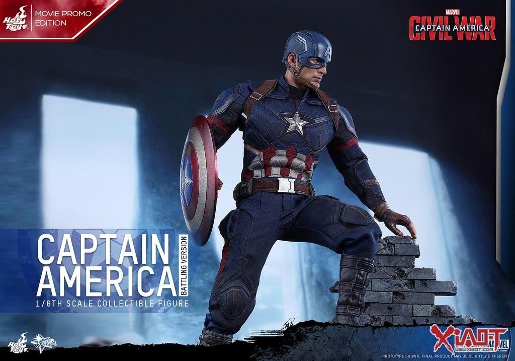 toys《美国队长3:英雄内战》美国队长战斗版