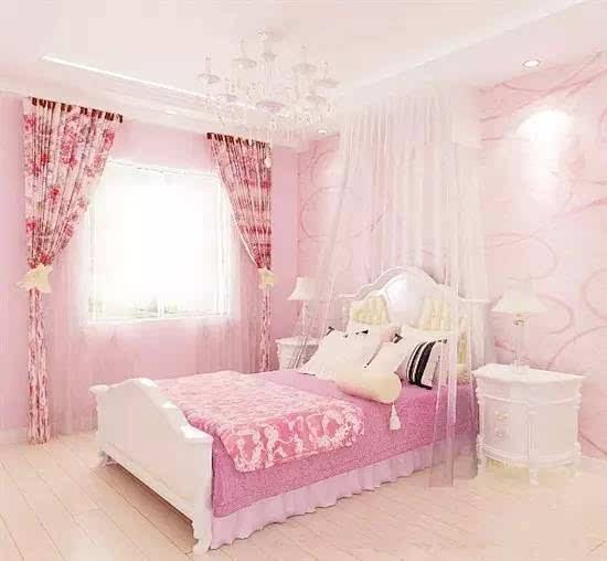 欧式风格,纯粉色系特别少女心图片