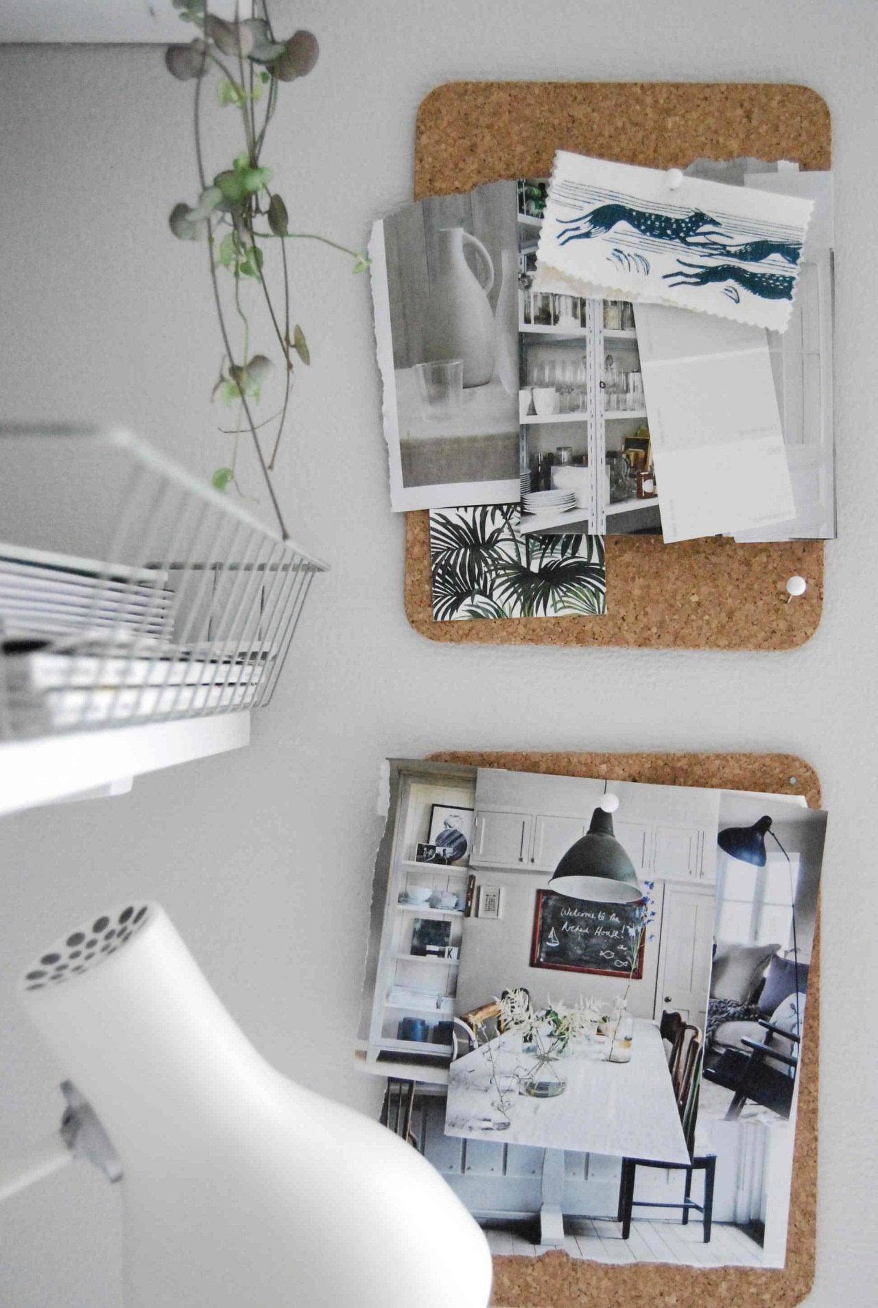 软木板diy创意照片墙