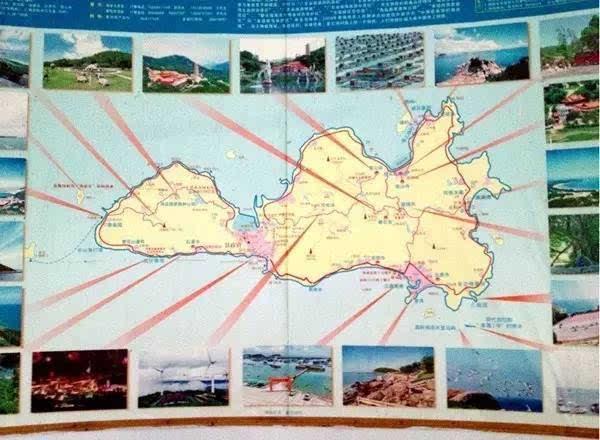 入驻南澳手绘地图
