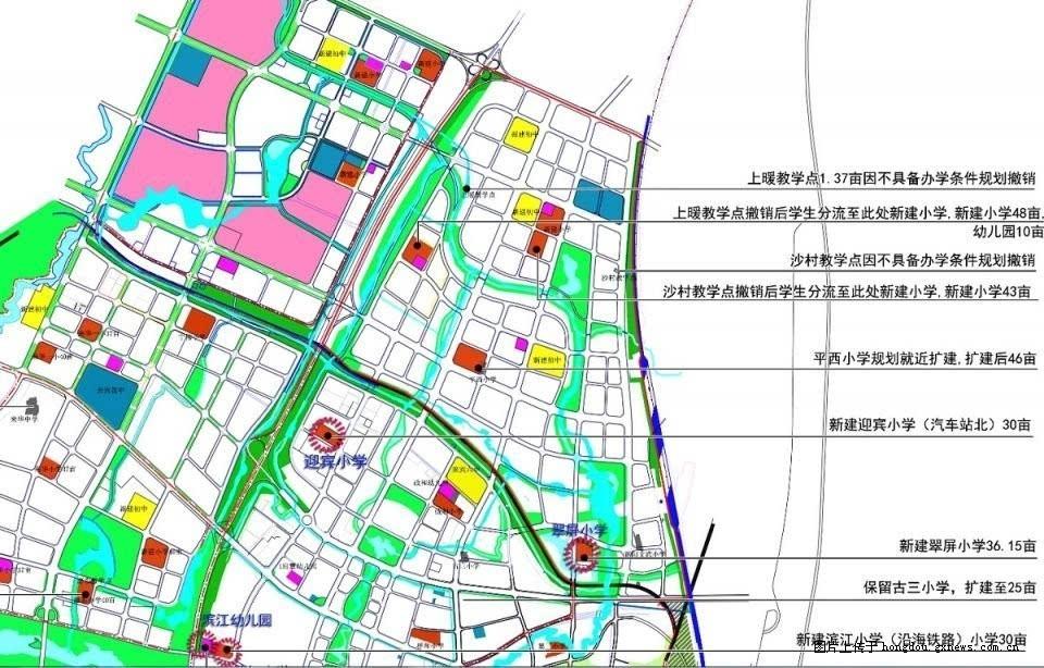 2016年来宾市规划建设初中10所,小学2所,你家初中项目中考体育淮安图片