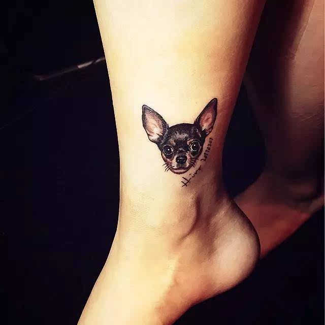 最少女的31款小清新纹身贴,藏在手腕耳后的小性感