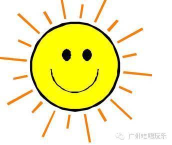 微信头像太阳卡通