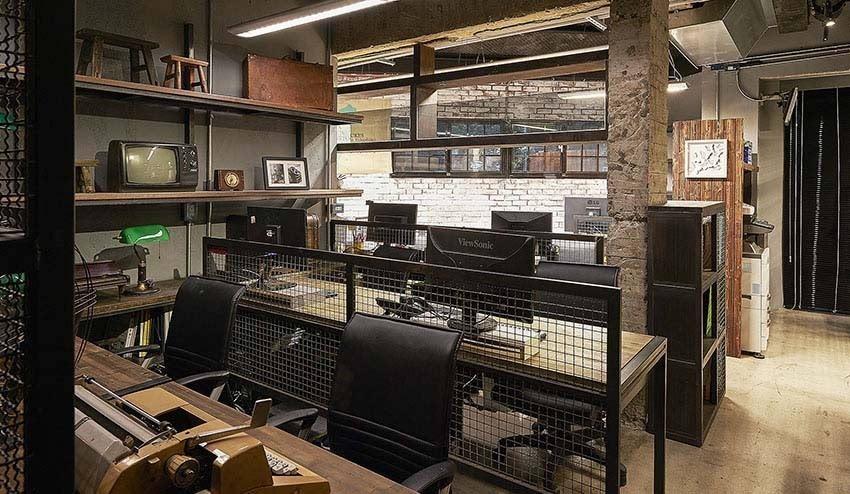 复古工业风工作室:用老件布置大味道图片
