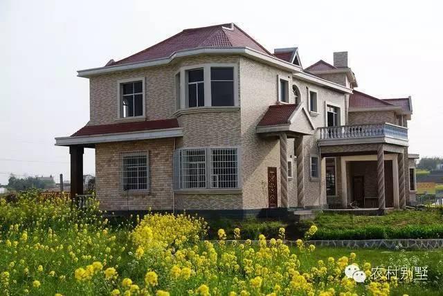 农村外墙瓷砖搭配效果图