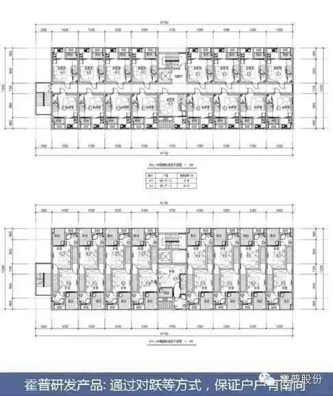 相比较而言,内廊式的得房率可能是相对较高的.图片