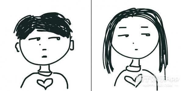 [花式虐狗]分享几组画风清奇的情侣头像!拿走不谢!图片