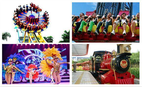 浪漫指数:★★ 消费指数:★★ 欢乐谷有各种多样的节目,比较适合有图片