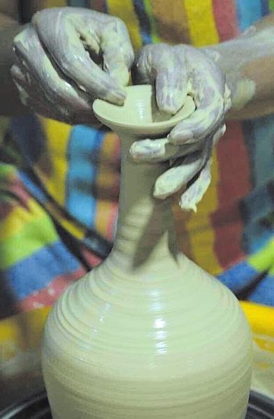 陶艺海底动物制作
