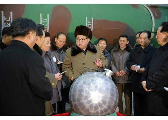 日,金正恩视察核工厂.-传朝鲜5月将再次核试验 中方 希望各方谨言