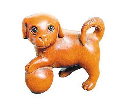 黄杨木雕小动物摆件收藏鉴赏
