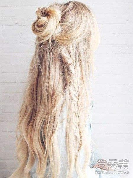 辫子发型扎法图解