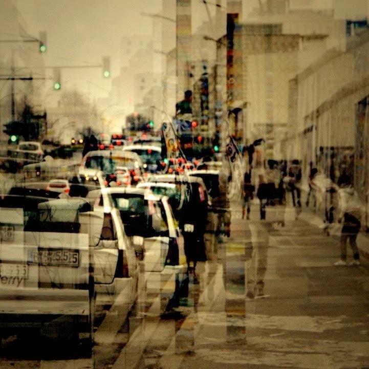 观念摄影:拥挤的城市