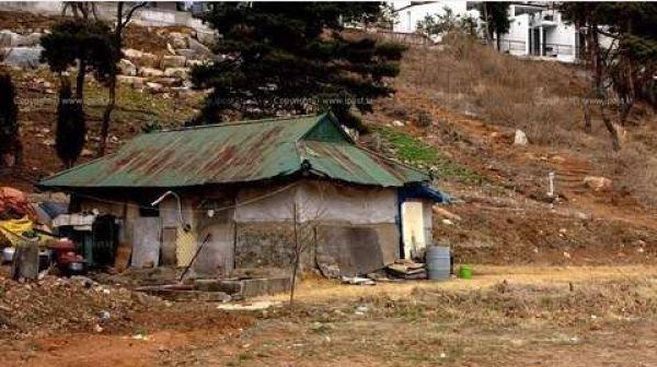实拍韩国农村真实生活:房屋破旧