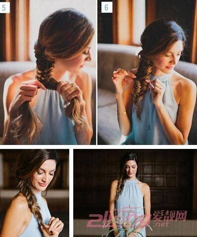 两款新娘发型图解 步骤简单造型高贵