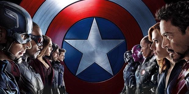 《美国队长3》预告海报