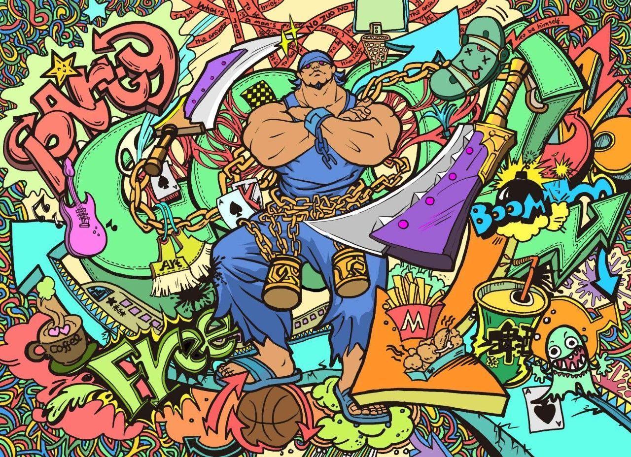 """图中所示超炫酷涂鸦手绘匡威鞋出自《无尽战区》诚意邀请的""""s级神秘"""