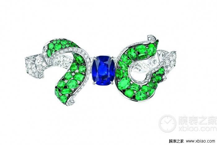 soie dior高级珠宝 自由流动的珠宝丝带