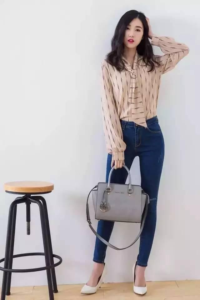 韩国牛仔裤女神