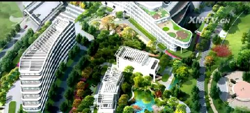 复旦大学附属中山医院厦门医院封顶 2017年初全面_苏州儿童医院