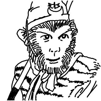 lol猴子矢量图