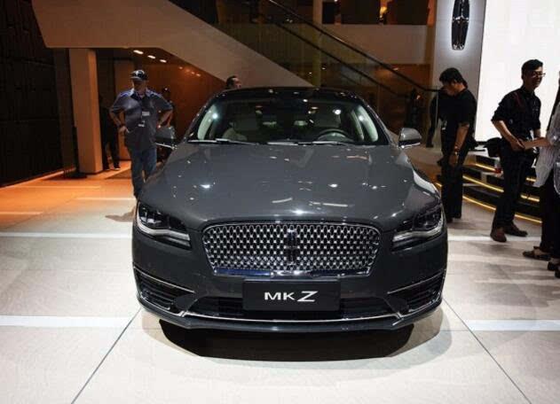 新款林肯mkz北京车展发布 家族式前脸设计