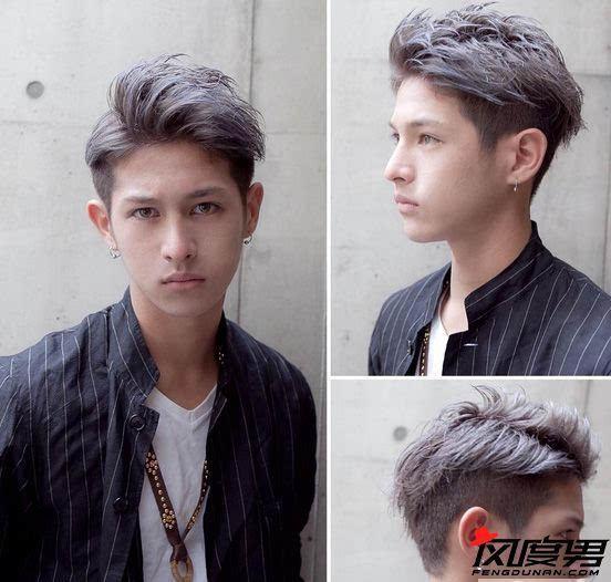 男生烫发发型图片分享 魅力潮男就是要从头做起图片