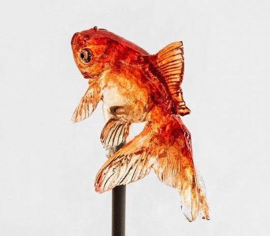 日本糖果艺术:仿真动物棒棒糖
