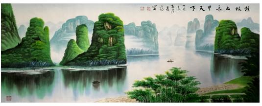 """2014年11月荣获""""中国梦""""全国诗词书画摄影作品大赛特等奖第一名,在"""