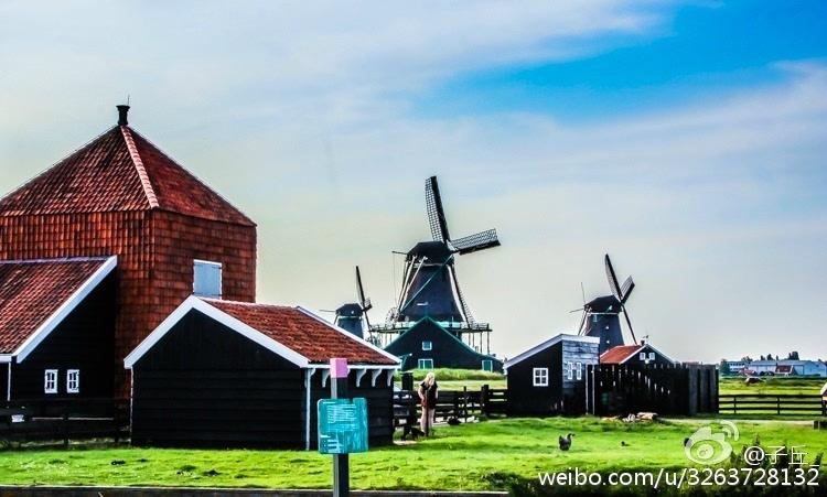 清新淡雅,走进充满诗意的荷兰民居