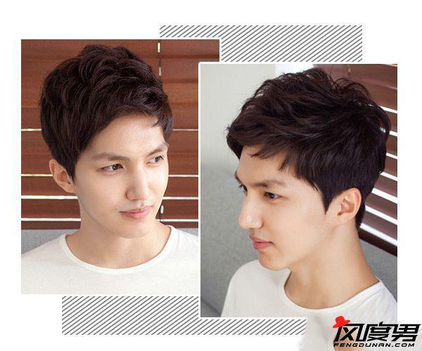 男生染发颜色推荐 型男们都在看的染发发型图片图片