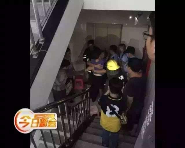 蓝天消防模块电梯迫降接线图