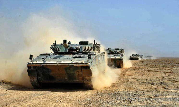 04a步兵战车参数 04a步兵战车载员