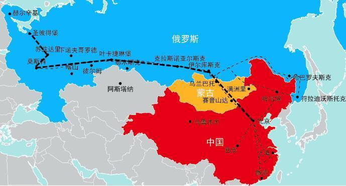 这里的空气都飘散着浓烈的斯拉夫味道 西伯利亚大铁路 全世界最长铁路