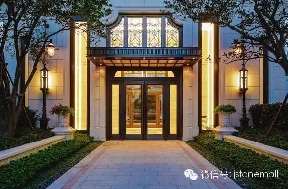 看小高层豪宅,全石材外墙完美演绎海派经典