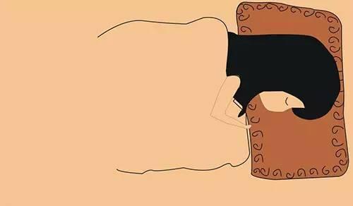 人体放松图 卡通