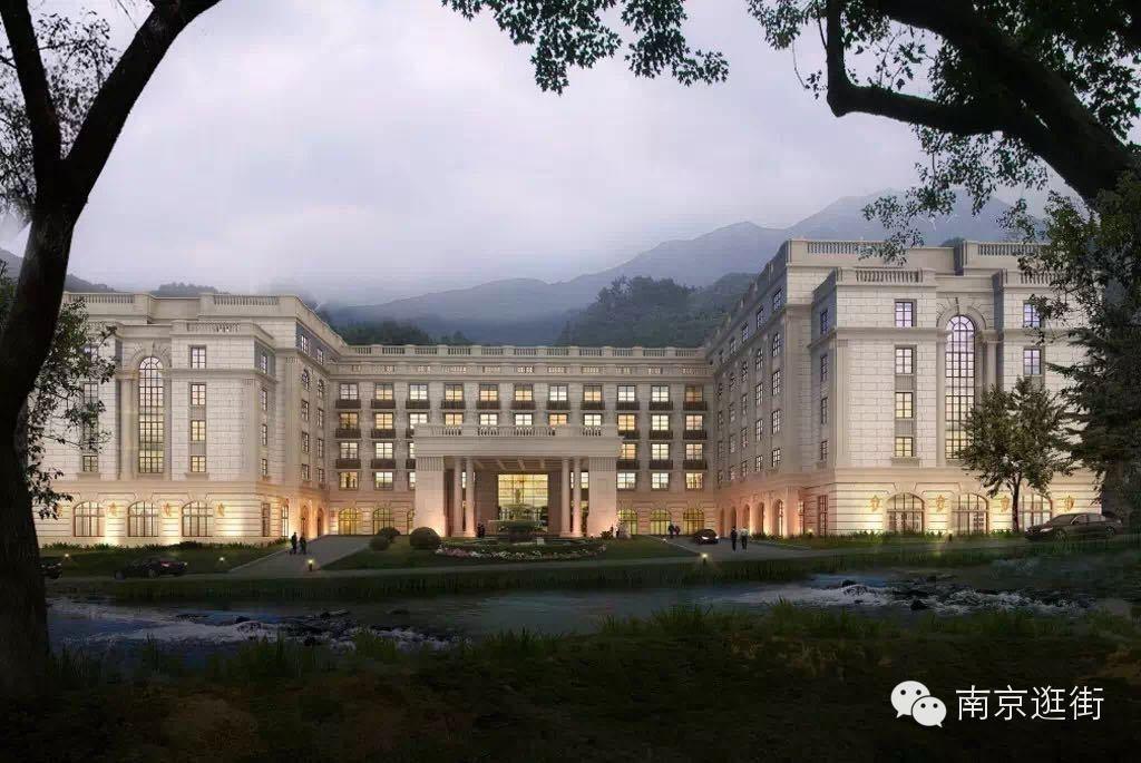 一 带上家人来南京东郊国宾馆天然森林氧吧泡温泉吧