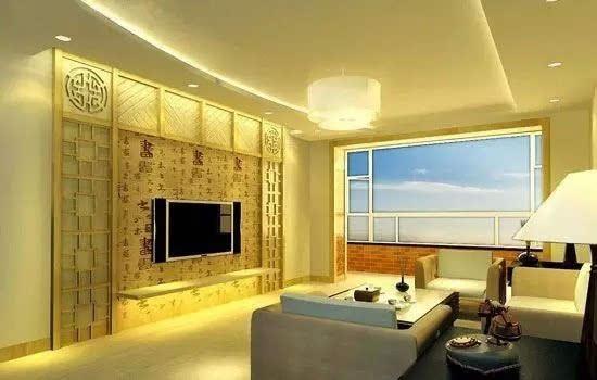 其它 正文       欧式风格电视背景墙一般都是深色实木家具与经典白色