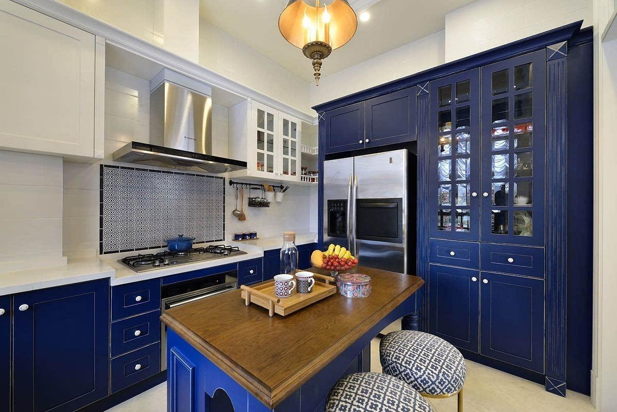厨房花砖装修效果图