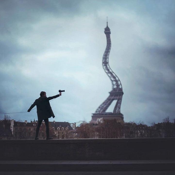 Vincent Bourilhon的超现实主义作品(扭曲现实的立场)