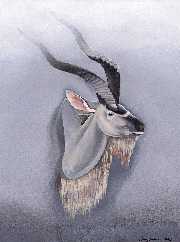 插画| 给动物画一幅超现实的肖像