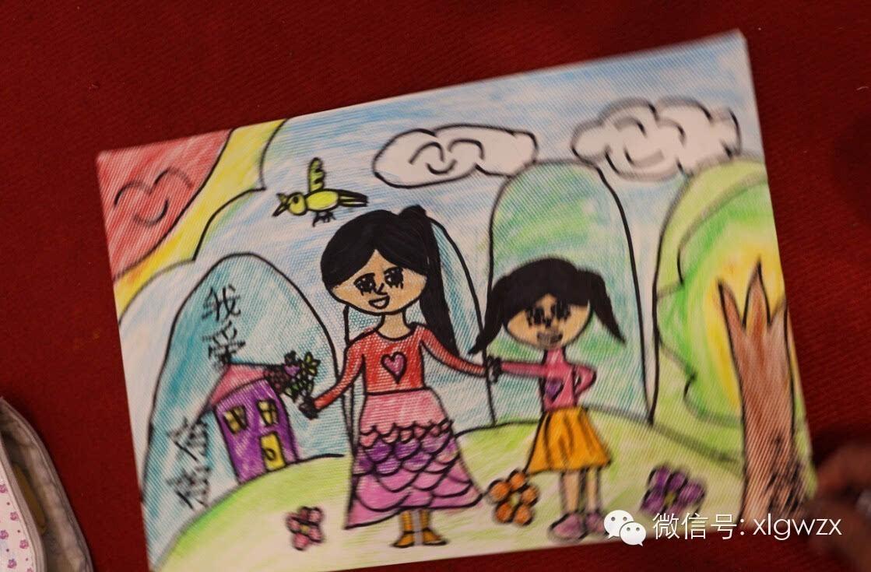兴伦购物中心《我心中最美的妈妈》儿童绘画比赛少儿