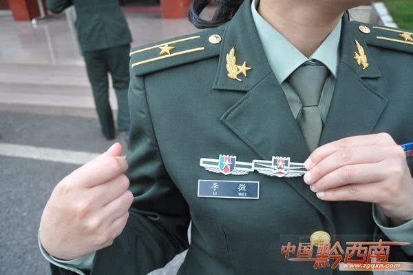 解放军新式军装胸章图片及详解