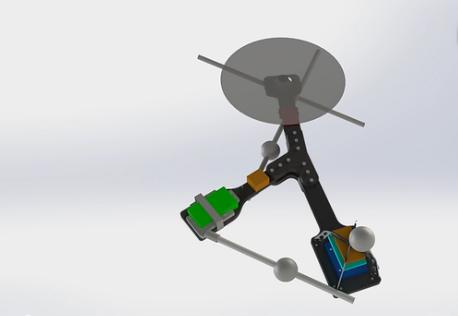 世界最简单的单旋翼无人机出世图片