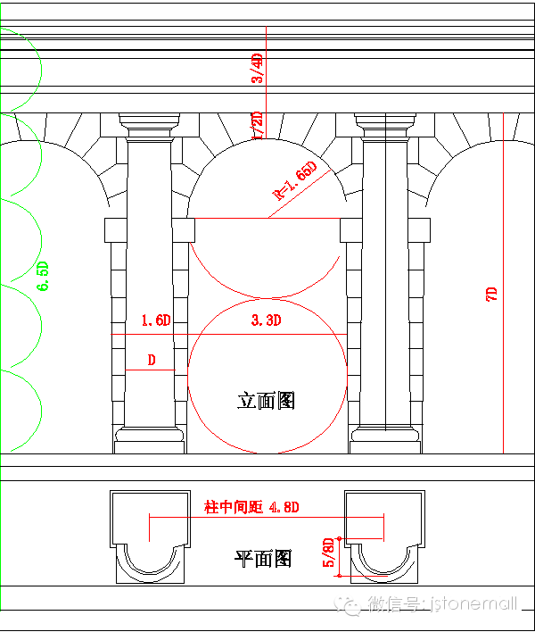 异国风情,欧式罗马柱赏析(内附设计标准图)