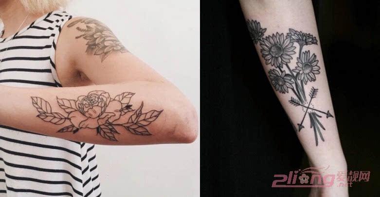 性感霸气的花臂纹身图案大全