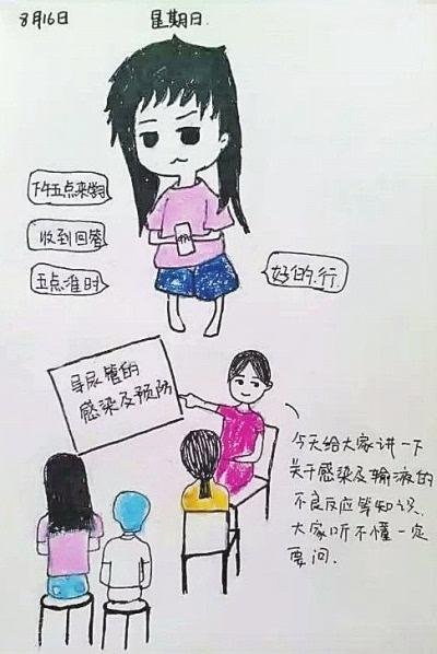 """""""萌护士""""手绘实习工作日记"""