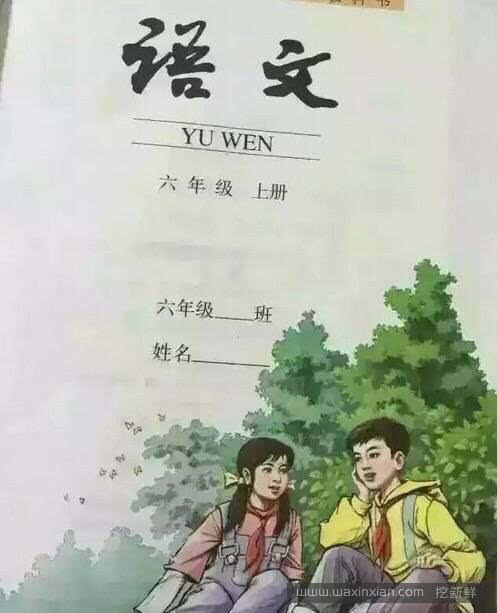 小学语文封面,这里面一定有个悲伤的故事