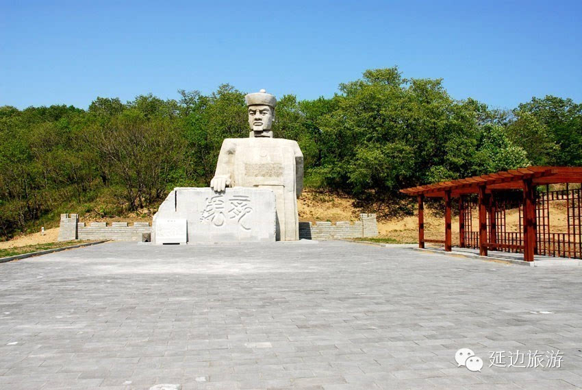 """珲春市是步骤""""水在城中,人在画中""""的东北亚城市一座.薛之谦签名的具体明珠图片"""