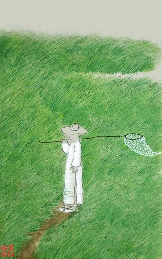 老树画画笔下的夏天:热烈活着,诗意生活!